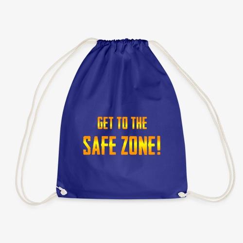 PUBG Get to the safe zone! - Turnbeutel