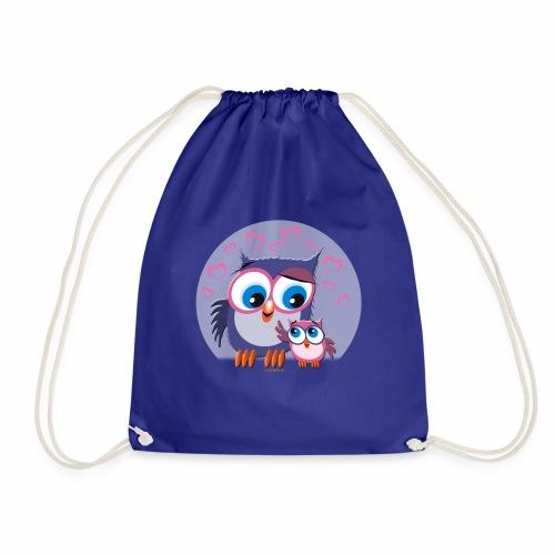 10-31 OWLS LOVE - PÖLLÖT, Äiti ja lapsipöllö - Jumppakassi