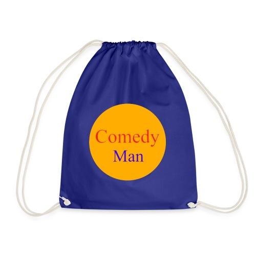 comedy man logo - Gymtas