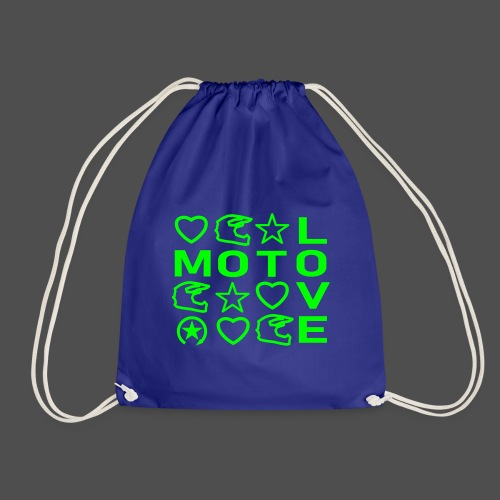 MOTO LOVE - Worek gimnastyczny