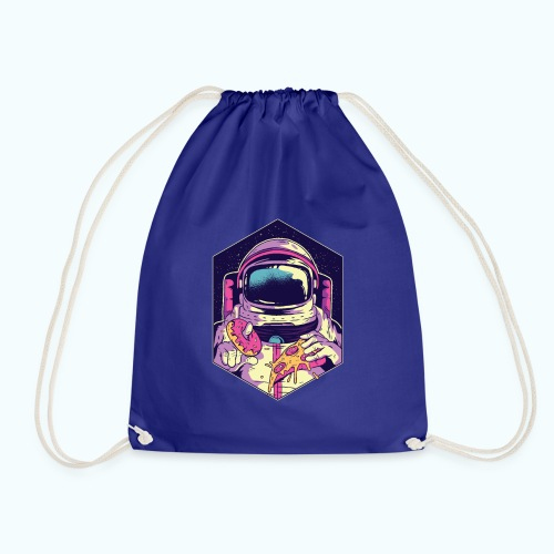 Fast food astronaut - Drawstring Bag