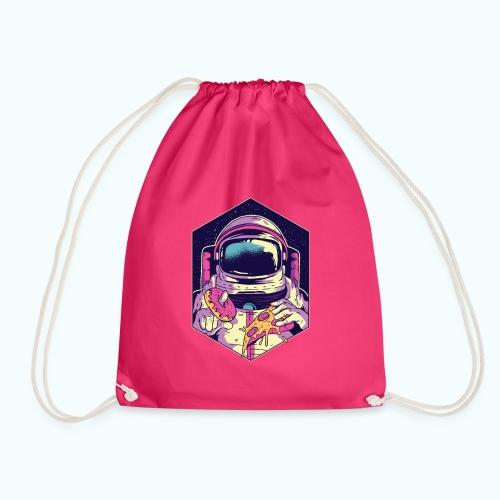 Fast food astronaut - Drawstring Bag