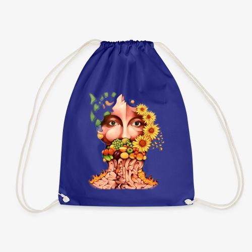 Fruit & Flowers - Drawstring Bag