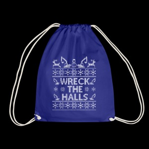 WRECK THE HALLS - Drawstring Bag