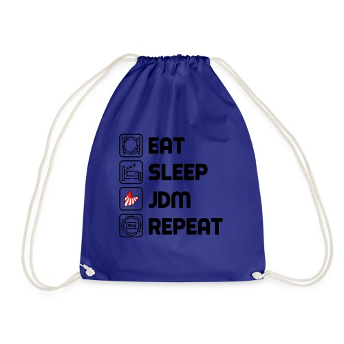Eat. Sleep. JDM. Repeat. - Sac de sport léger