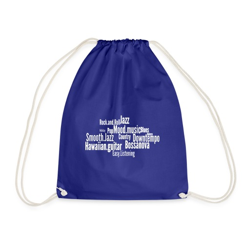 House Music Genres - Drawstring Bag
