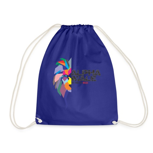 alpha - Drawstring Bag