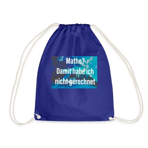 Mathe - Turnbeutel