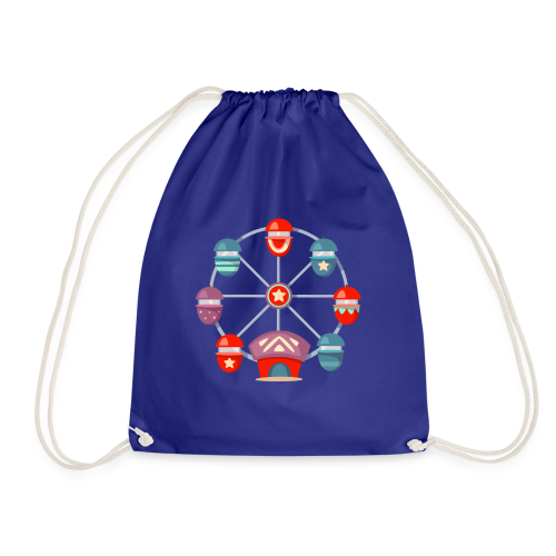 Ferris Wheel - Drawstring Bag