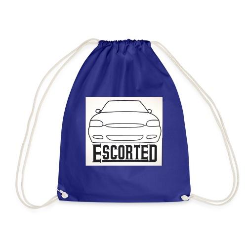 Escorted - Drawstring Bag