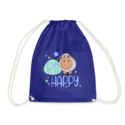 Be happy sheep - Happy sheep - lucky sheep - Drawstring Bag