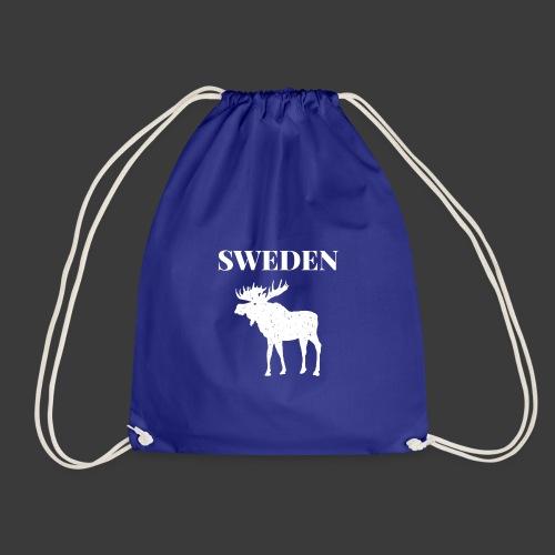 Sweden Moose Sverige - Turnbeutel