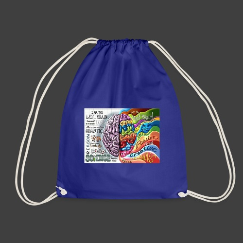 Brain LR - Drawstring Bag