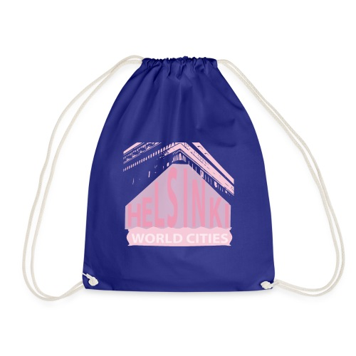 Helsinki light pink - Drawstring Bag