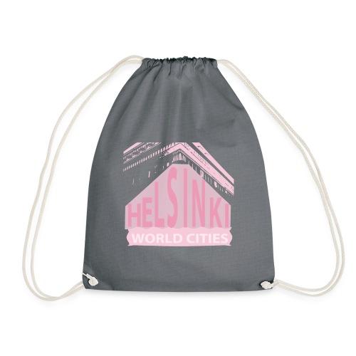 Helsinki light pink - Drawstring Bag