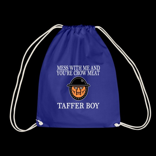 Taffer Boy (White) - Drawstring Bag