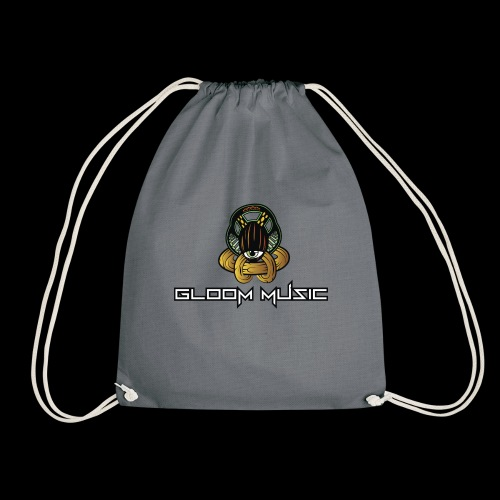 GLOOM MUSIC LOGO COLOR - Drawstring Bag