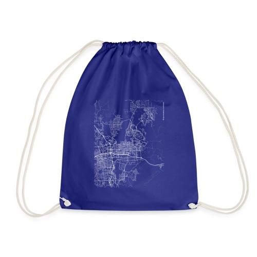 Minimal Sparks city map and streets - Drawstring Bag