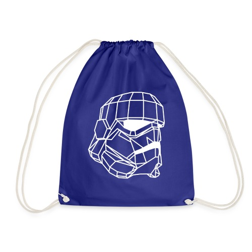 Male Stormtrooper Premium Geometrical sweater - Drawstring Bag