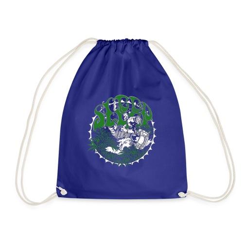sleep band merch - Drawstring Bag