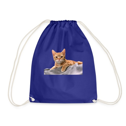 Cuddly Cute Kitty Cat - Drawstring Bag