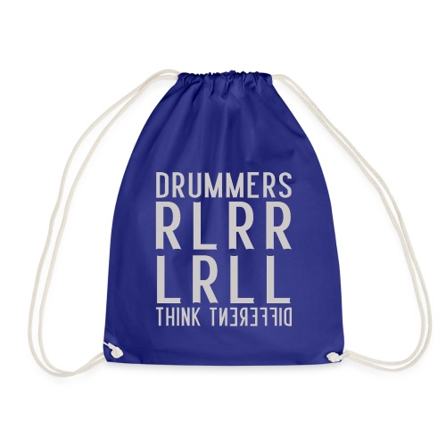 Drummers think different - Paradiddle - Turnbeutel