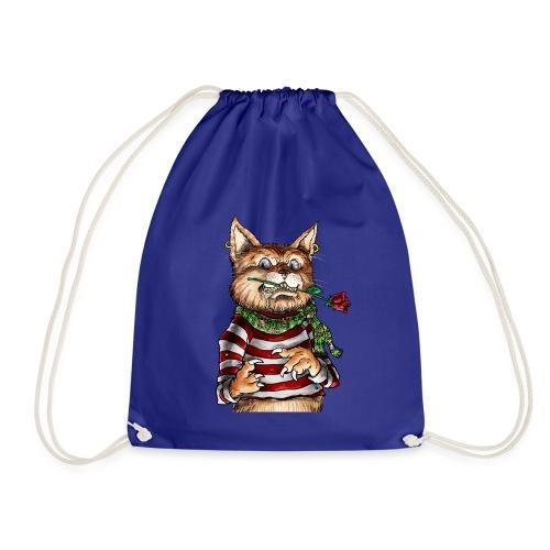 T-shirt - Crazy Cat - Sac de sport léger