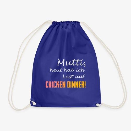 PUBG Mutti heut hab ich Lust auf Chicken Dinner! - Turnbeutel