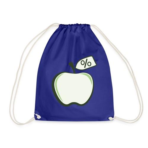Sund på budget logo til mørke produkter - Sportstaske