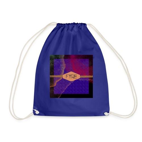 FYRE Colour Splat Print - Drawstring Bag