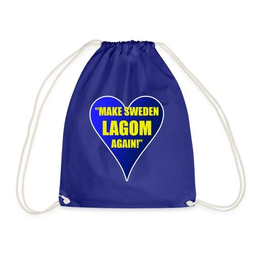 Make Sweden Lagom Again - Gymnastikpåse