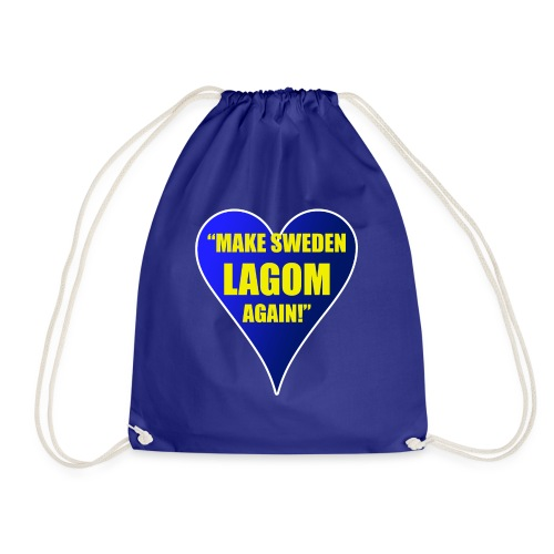 Make Sweden Lagom Again - Gymnastikpåse