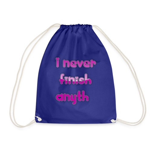 finish - Drawstring Bag