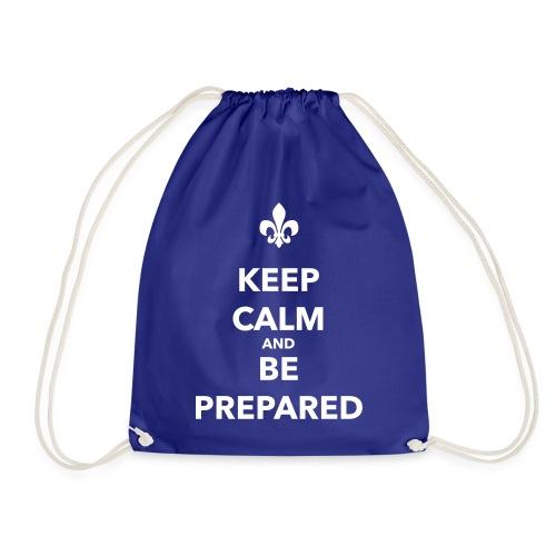 Keep calm and be prepared - Farbe frei wählbar - Turnbeutel