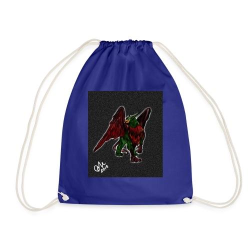 Grifone verde-rosso - Sacca sportiva