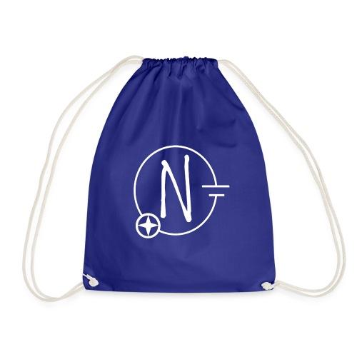 Nerdpol Logo White - Turnbeutel