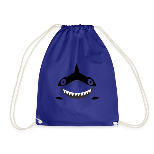 Shark - Drawstring Bag