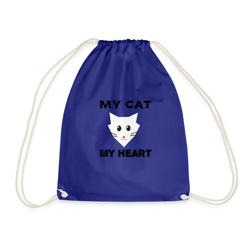 my cat my heart - Sac de sport léger