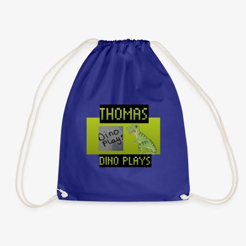OFFICIAL DINO PLAYS MERCH - Drawstring Bag