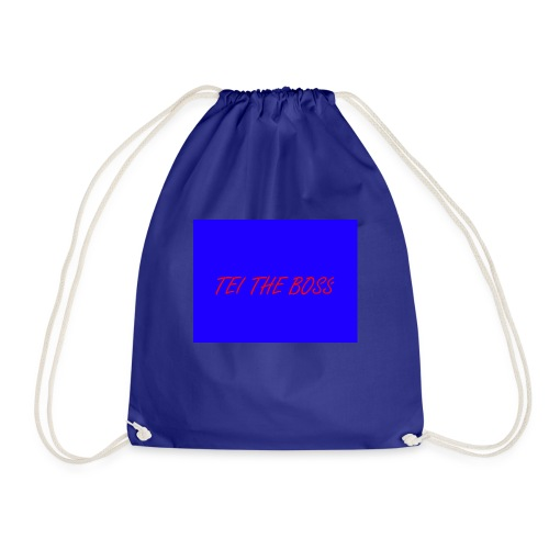 BLUE BOSSES - Drawstring Bag