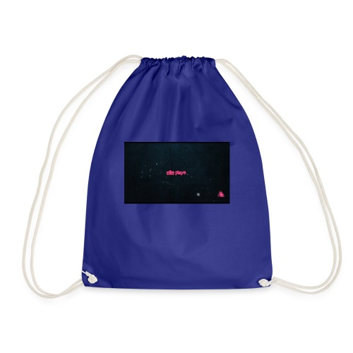 Ellis plays design merchandise - Drawstring Bag
