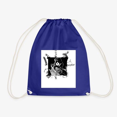 Panda snake - Drawstring Bag
