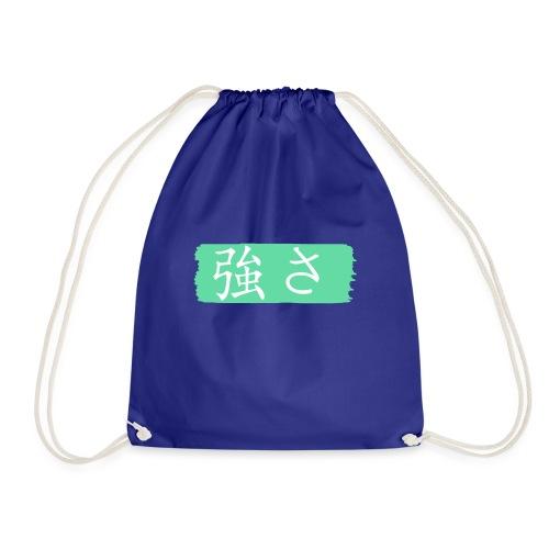 Kanji Giapponese - Forza - Sacca sportiva