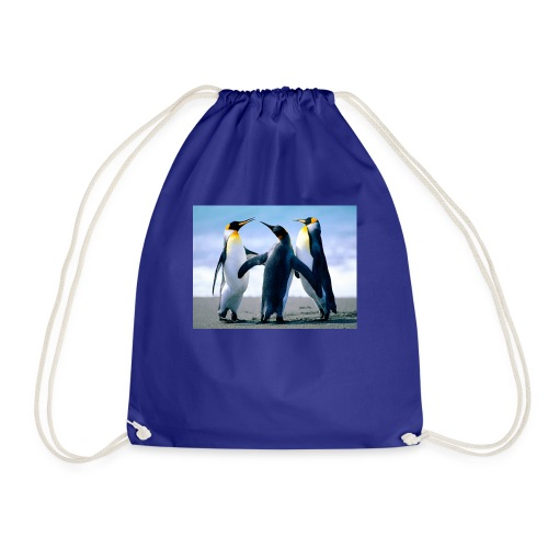 penguin squad - Drawstring Bag