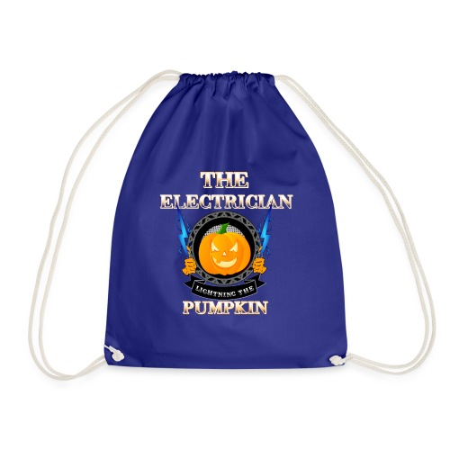 The Electrican lightning the Pumpkin - Turnbeutel