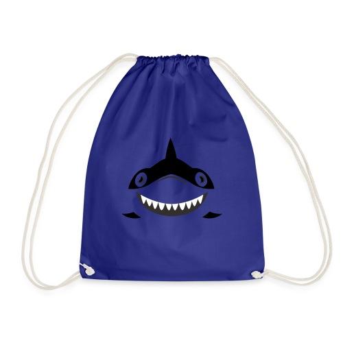 Shark - Drawstring Bag