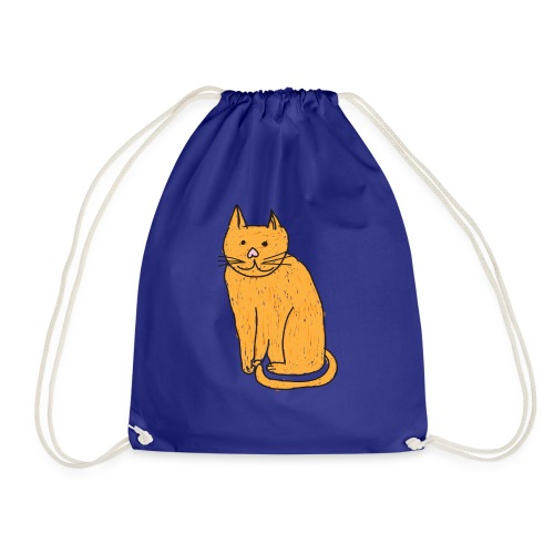 Cat Travel Mug - Drawstring Bag