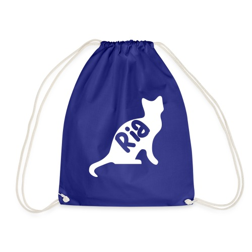 Team Ria Cat - Drawstring Bag