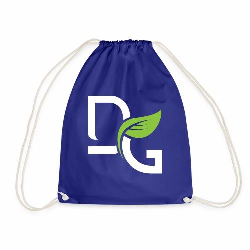 DrGreen Logo Symbol weiss grün - Turnbeutel