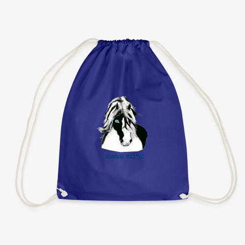 trad gypsy cob - Drawstring Bag